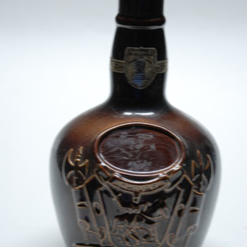 Vintage Pre prohibition Chivas (Regal) Brothers Royal Daulton Bottle - Bottles