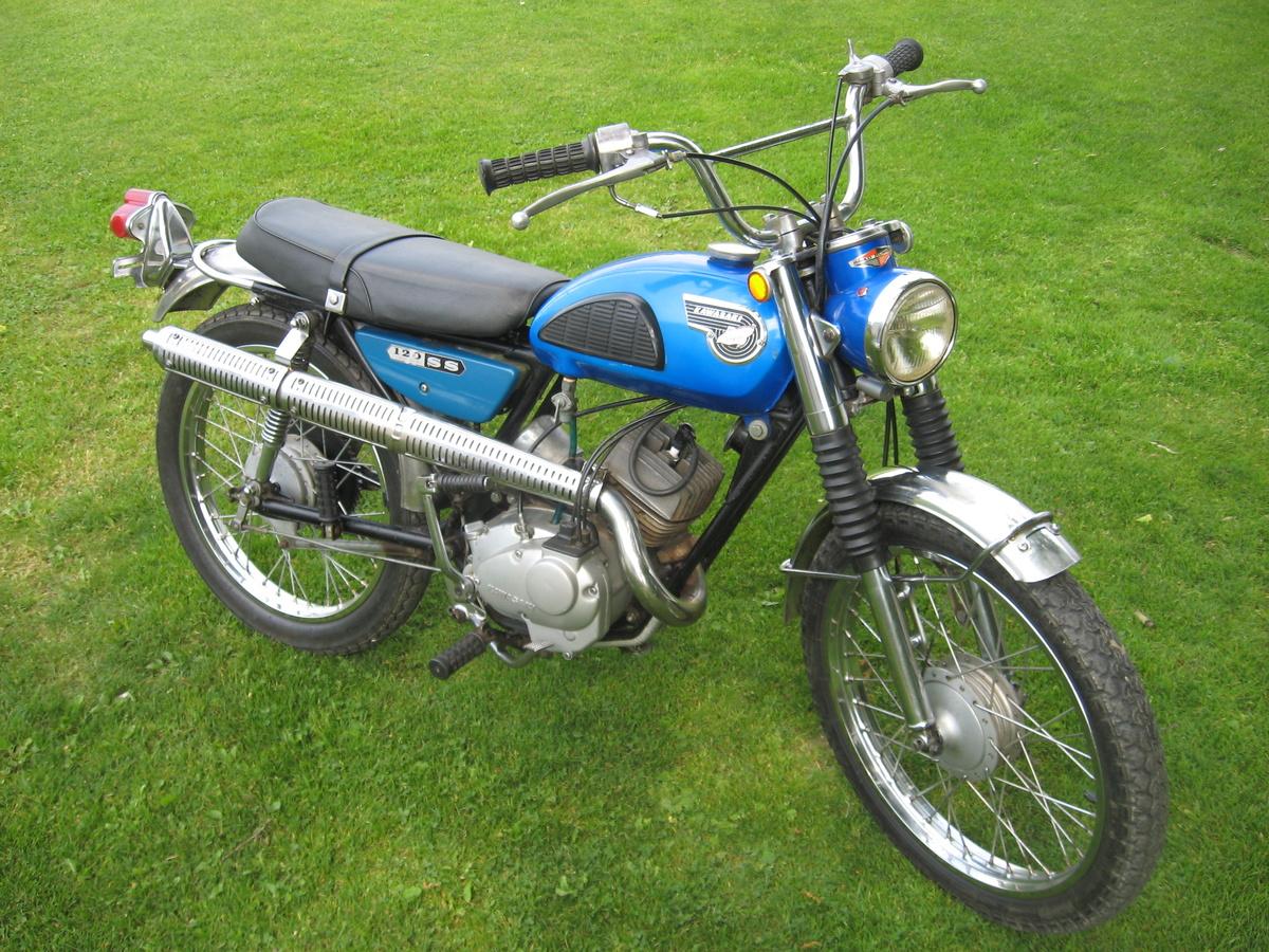 1967 68 Kawasaki C2SS 120 RoadRunner Scrambler
