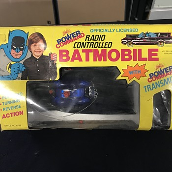 The Batmobile radio controlled  - Model Cars