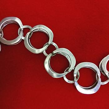 Theresia Hvorslev 935 Silver Bracelet, 1972 - Fine Jewelry