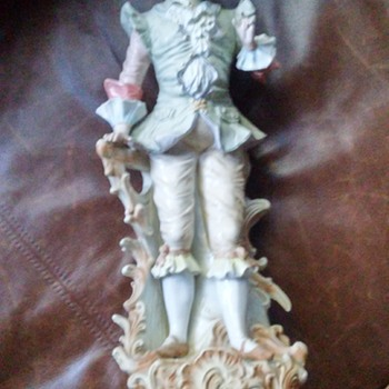 Antique Porcelain German Figurine