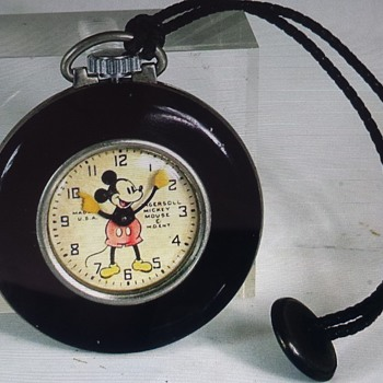 Ingersoll Mickey Mouse Lapel watch - Pocket Watches
