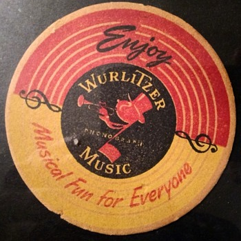 Wurlitzer, DIXIE 45 and Coca-Cola Coaster Connection - Breweriana