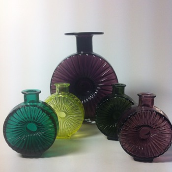 Helena Tynell - Sun bottles - Art Glass