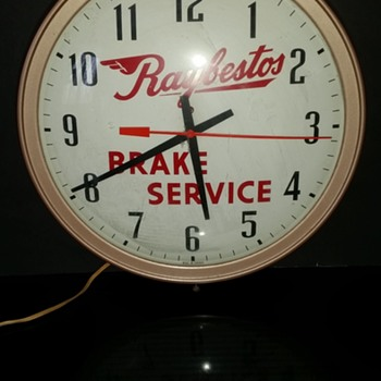 Raybestos Clock - Petroliana