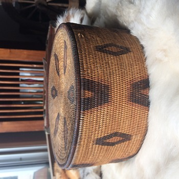 Can anyone ID this Native American Basket - Folk Art