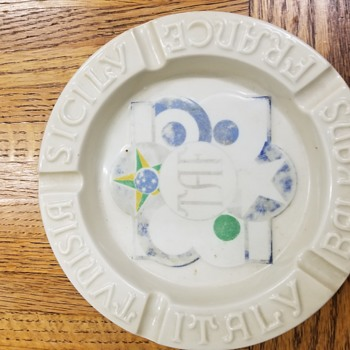 WW2 ashtray - Military and Wartime