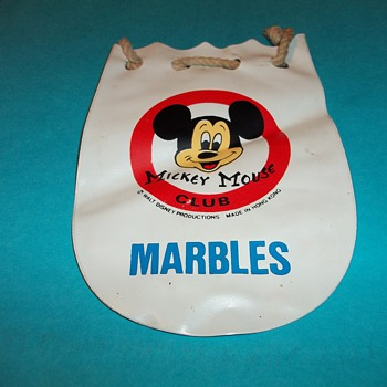 MICKEY MOUSE CLUB MARBLE BAG