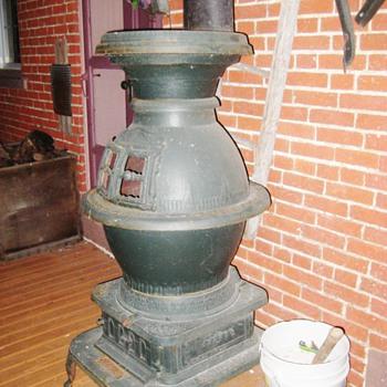 Antique Buckwalter Coal Stove - Kitchen
