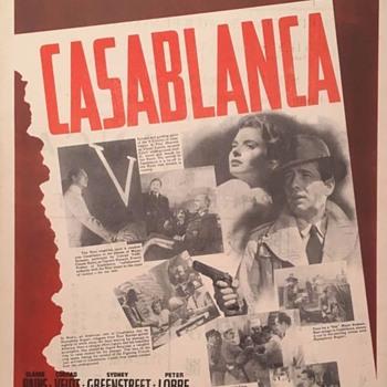 CASABLACA ORIGINAL MINI POSTER - Movies