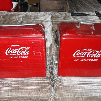 Coke coolers - Coca-Cola