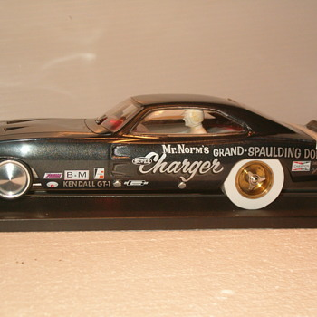 "1/24th ""MR NORMS"" 69 dodge charger K&B CHASSIS - Model Cars"