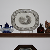 ~~~Old 1850's China Plater~~~