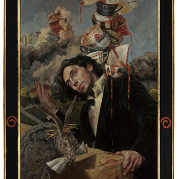 Gail Potocki - Modern Symbolist/Art Nouveau Oil Painting - Art Nouveau