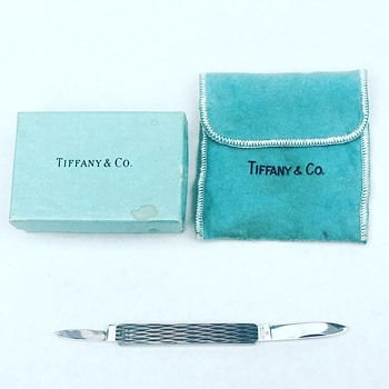 Vintage Tiffany & Co Pocket Knife  - Tools and Hardware