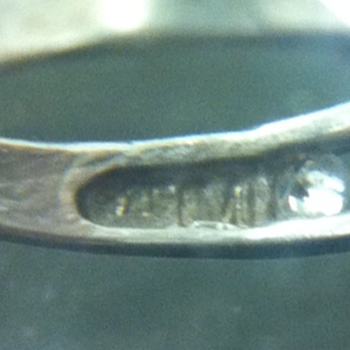 Silver Ring Marking