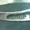 Silver Ring Marking