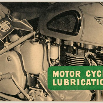 1955 - Castrol Motor Cycle Lubrication Guide (B.S.A.) - Paper