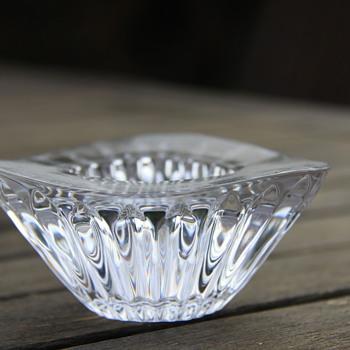 Faberge crystal votive - Art Glass