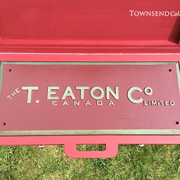 The T. EATON Co Limited, Winnipeg Store Building Sign circa. 1905 - Signs