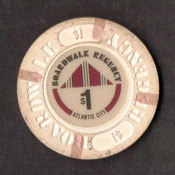 Boardwalk Regency Casino - $1 Gaming Chip - Games