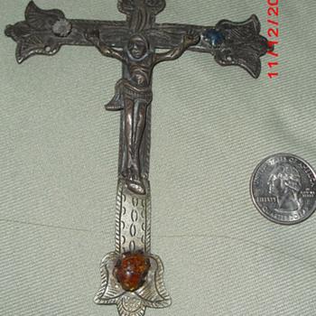 Primitive looking cross