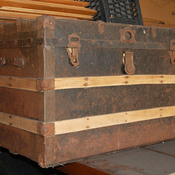 Some Old Trunk from my Junk Collection - Furniture