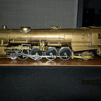 Brass Engine-Made in Japan-Can Someone Tell Me Who the Manufacturer is? - Model Trains