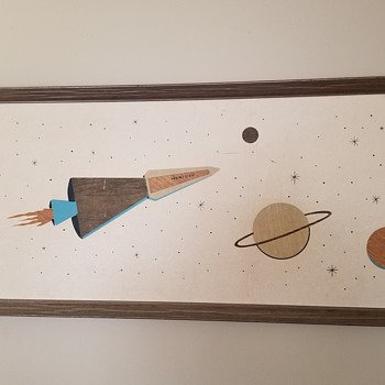 Huge Windsor Art framed Rocket - Fine Art