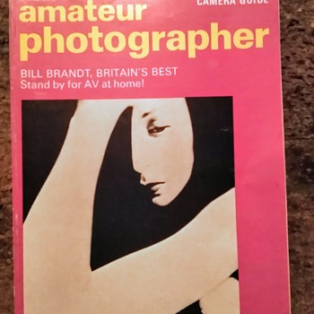 Amateur photographer magazine, 29th April 1970.  - Paper