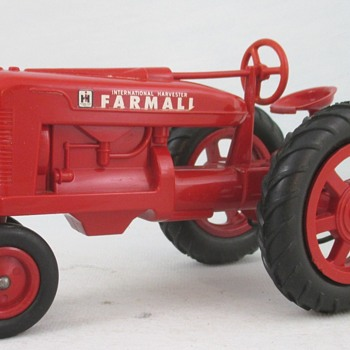 Farmall M Tractor from the Tractor collection