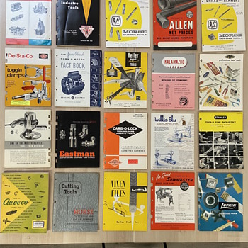 Vintage Tool Catalogs - Books