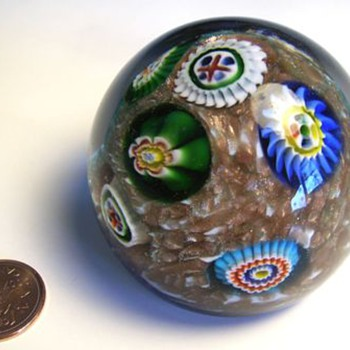 Murano (AVEM) Glass Paperweight