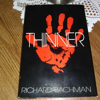 'THINNER', BY BACHMAN..ALSO KNOWN AS KING - Books