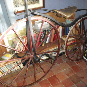 Oldest and first pedal bike in the world - Motorcycles