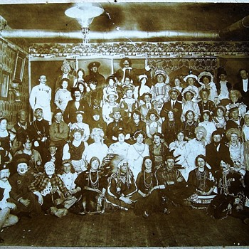 Costume Party c1910 Ontario photograph - Photographs