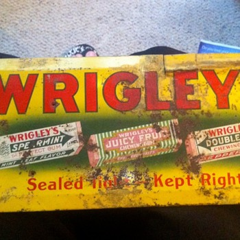 Wrigley's Gum sign... - Advertising