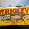 Wrigley's Gum sign...