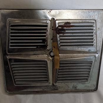 Air King chrome vent. - Kitchen