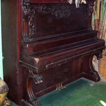 Old Piano - Music Memorabilia