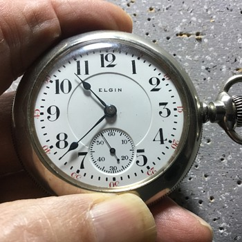 1904 Elgin 18s 21j - Pocket Watches