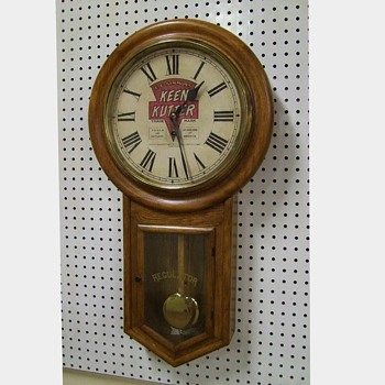 Keen Kutter Advertising Clock - Clocks