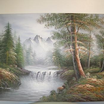 2 M. Scott Raised Relief Paintings - Fine Art
