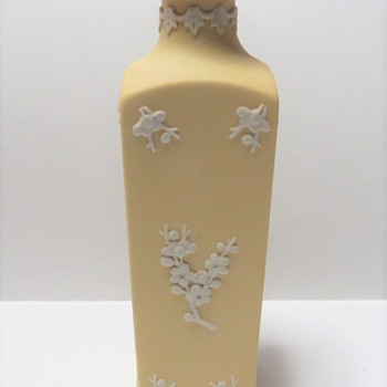 Primrose Yellow Wedgwood Jasperware Vase - China and Dinnerware
