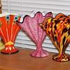 More fan vases