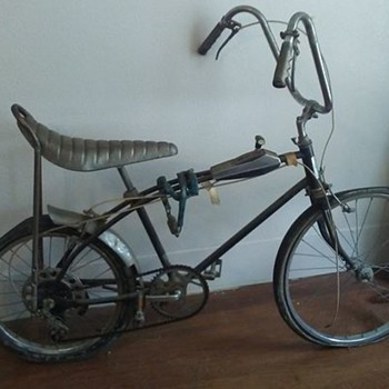 two vintage Texas ranger bikes