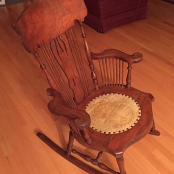 Outstanding Antique And Vintage Rocking Chairs Collectors Weekly Inzonedesignstudio Interior Chair Design Inzonedesignstudiocom