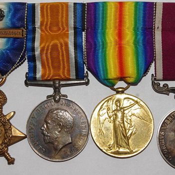 British WW1 Medal Set - Military and Wartime