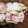 An Astonishing Assignation: My Armand Marseille Googly Doll's Warmly Welcoming a Heubach Topknot Babe
