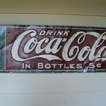 Old (restored) Coca Cola Sign by The Elwood Myers Co...how old is it?